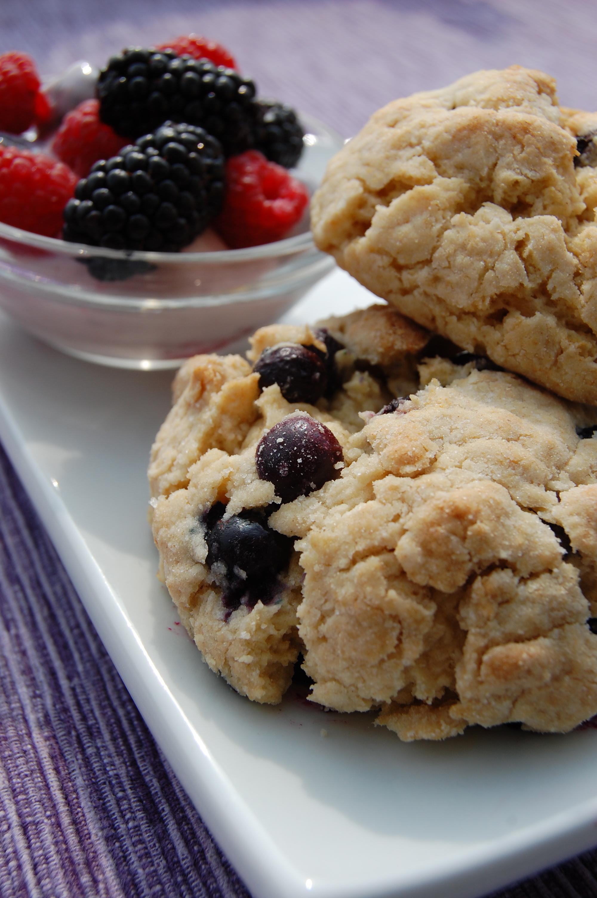 Sweet Pea's Kitchen » Blueberry Drop Scones