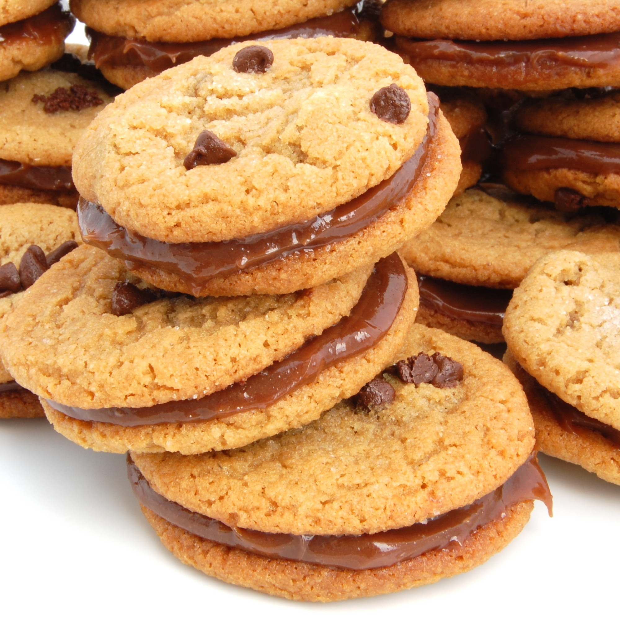 Sweet Pea's Kitchen » Milk Chocolate Peanut Butter Sandwich Cookies
