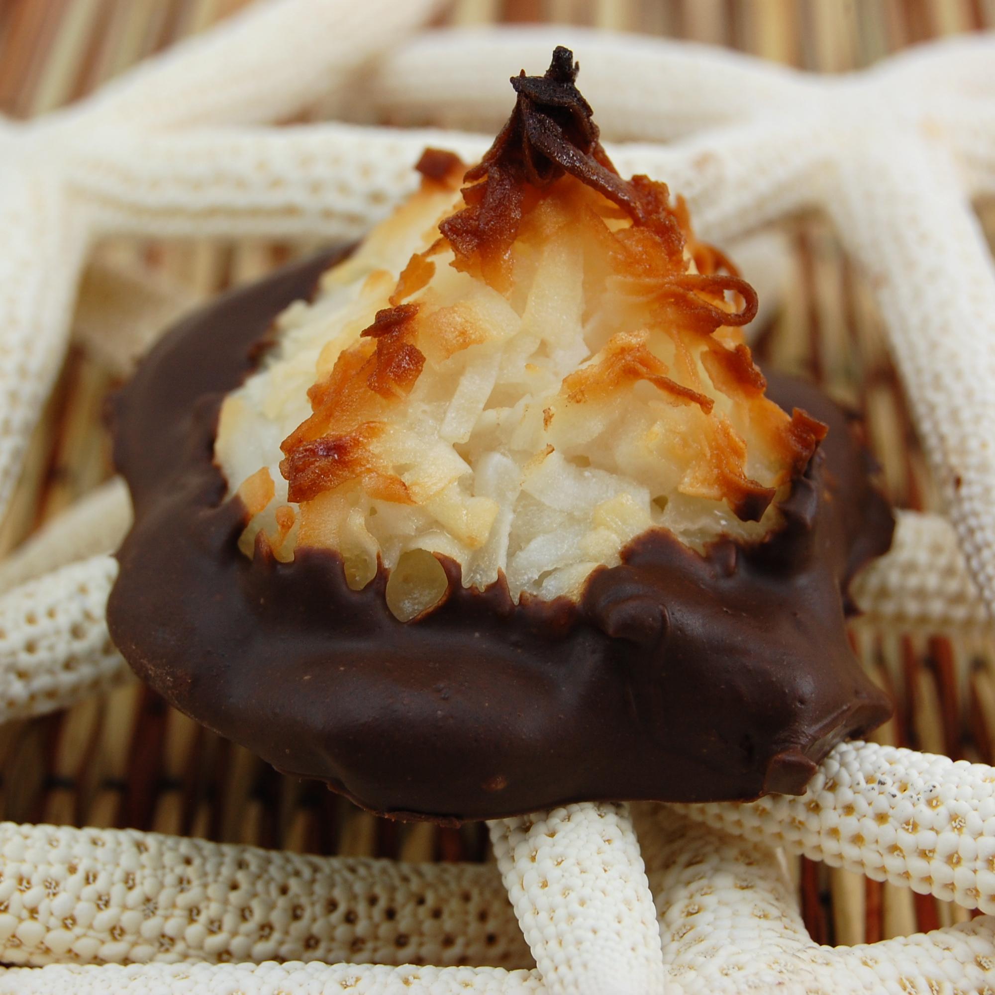 Coconut Chocolate Macaroon Recipe — Dishmaps
