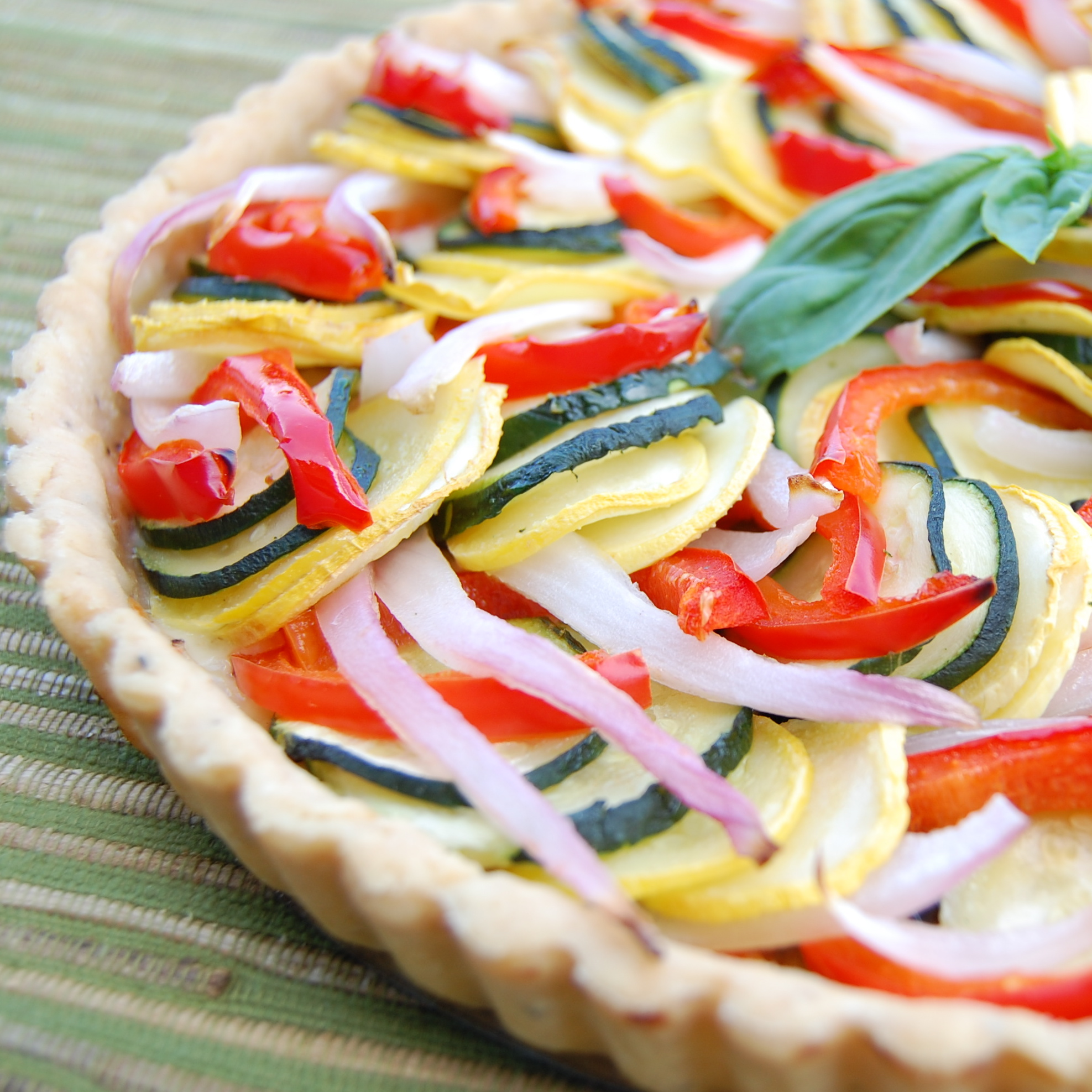Sweet Pea's Kitchen » Ratatouille Tart