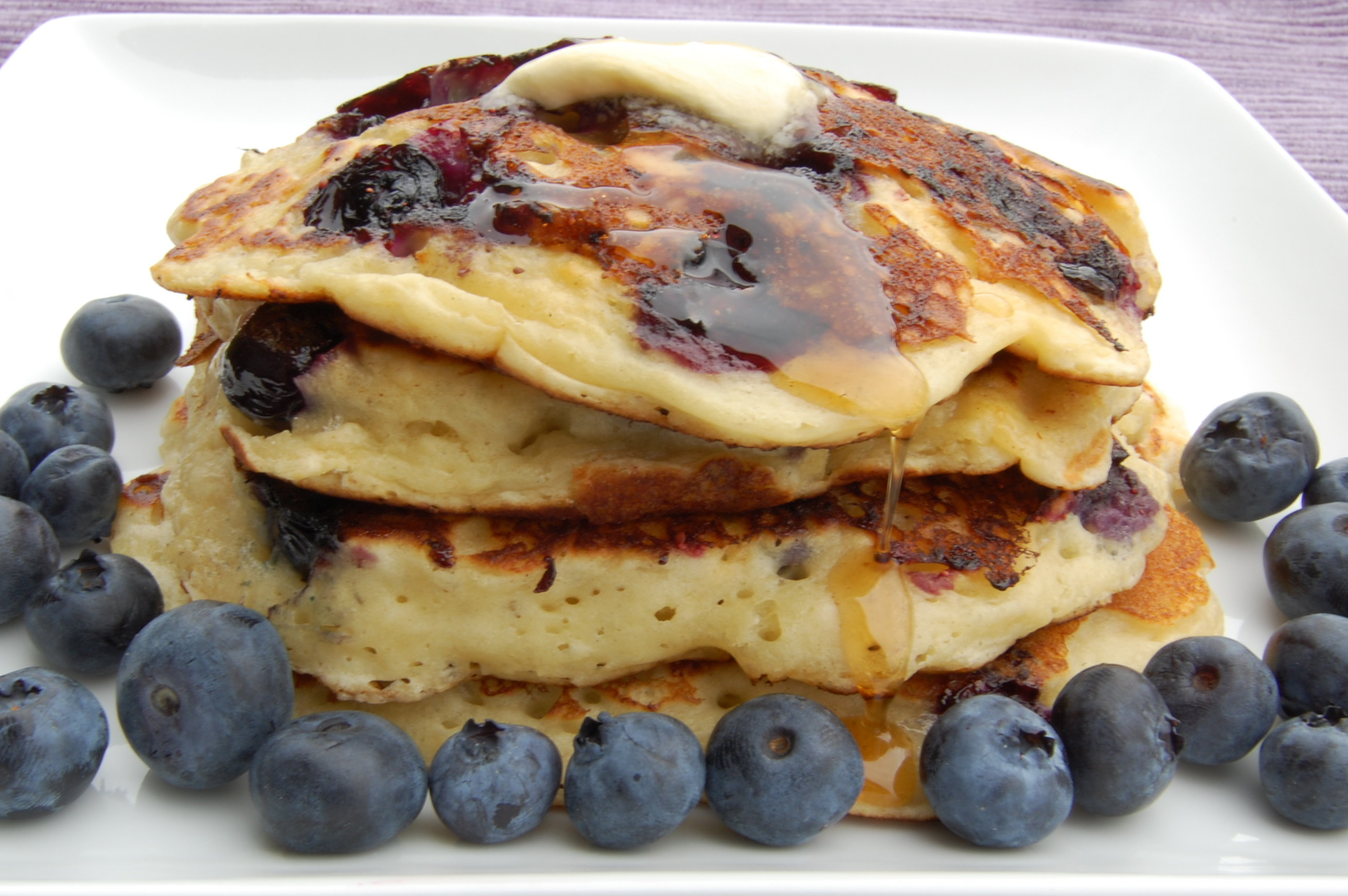 Sweet Pea's Kitchen » Blueberry Buttermilk Pancakes