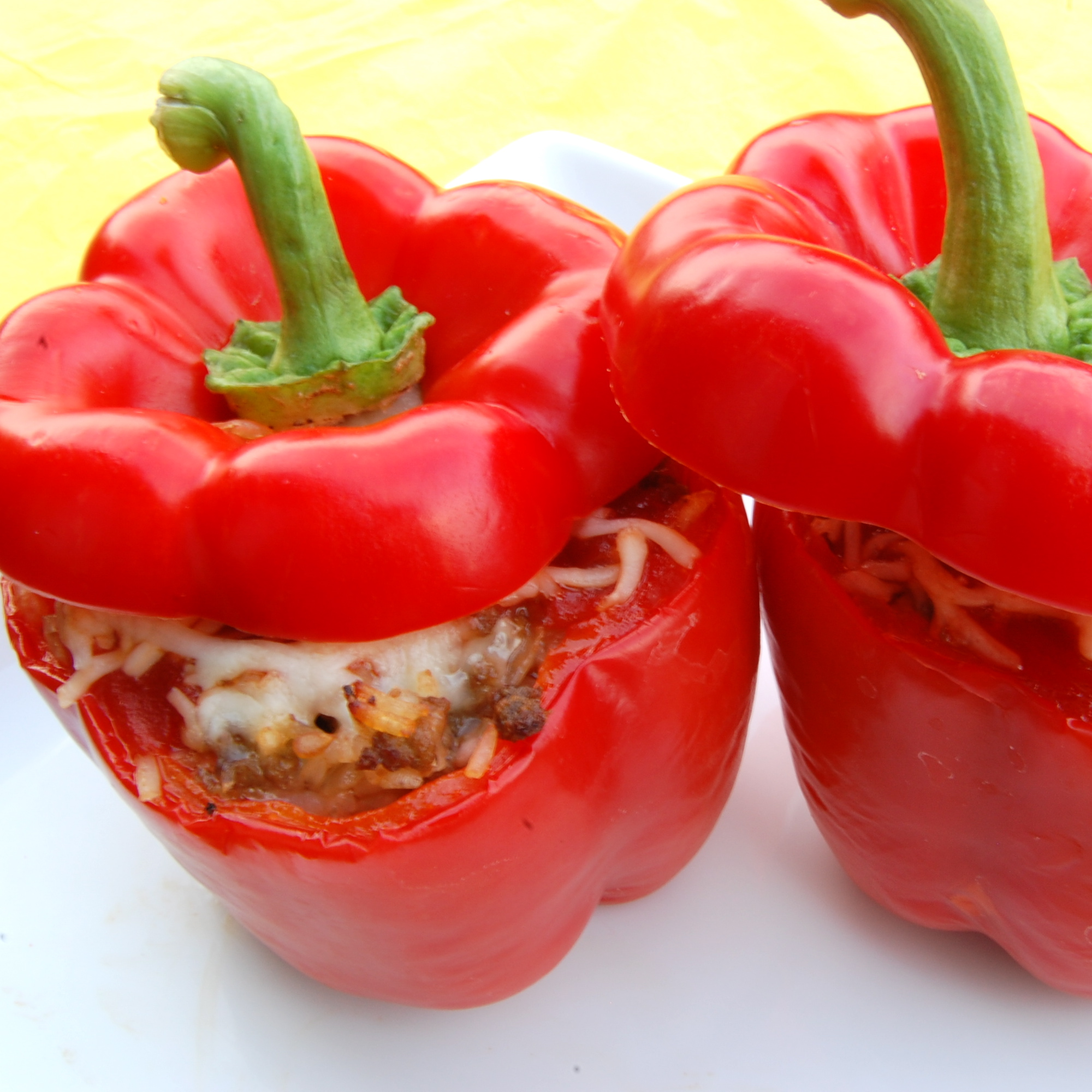 Sweet Pea's Kitchen » Stuffed Bell Peppers