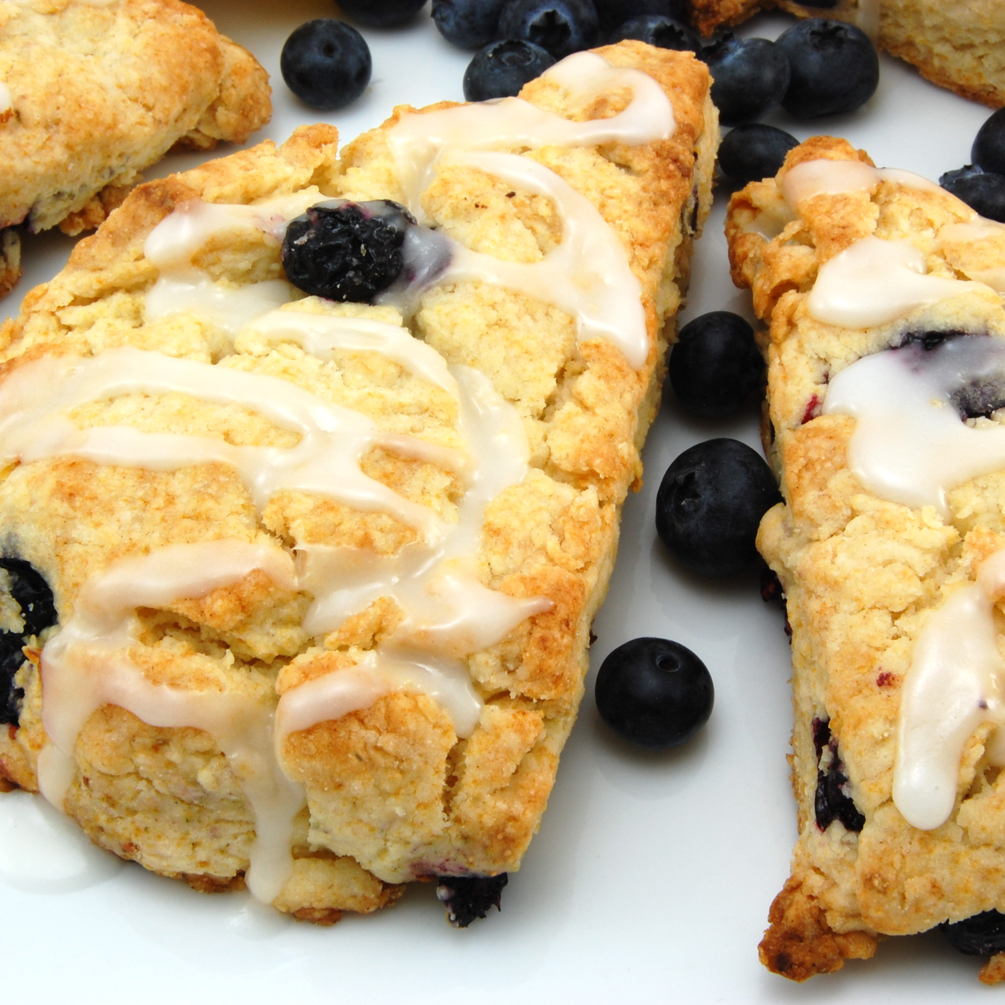 Sweet Pea's Kitchen » Lemon-Blueberry Scones