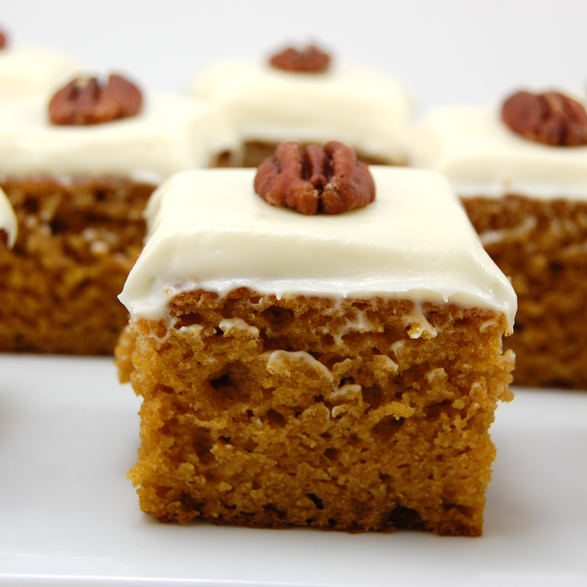 Pumpkin Cheesecake Cake With Cream Cheese Frosting