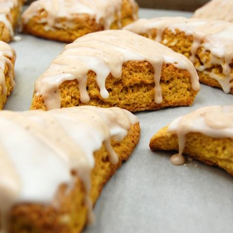 Starbucks Scones Pumpkin scones