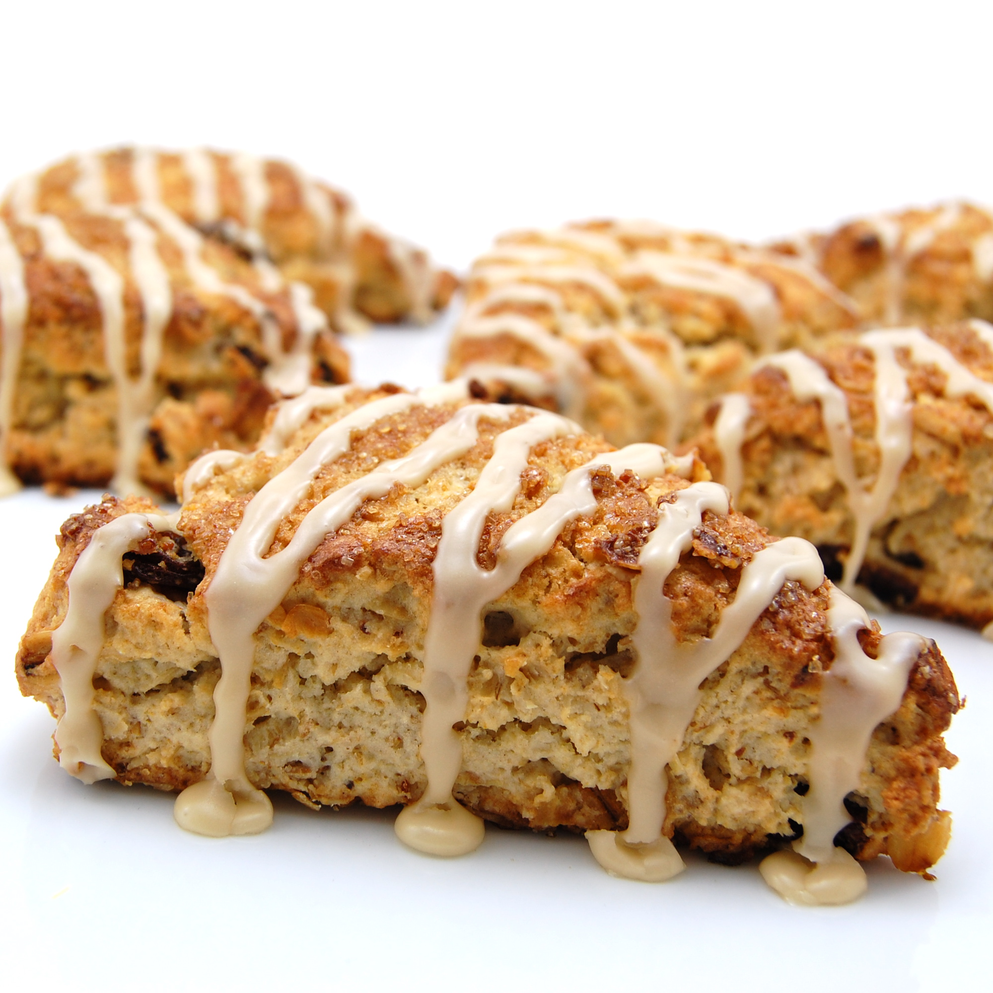 Sweet Pea's Kitchen » Cinnamon Raisin Oatmeal Scones