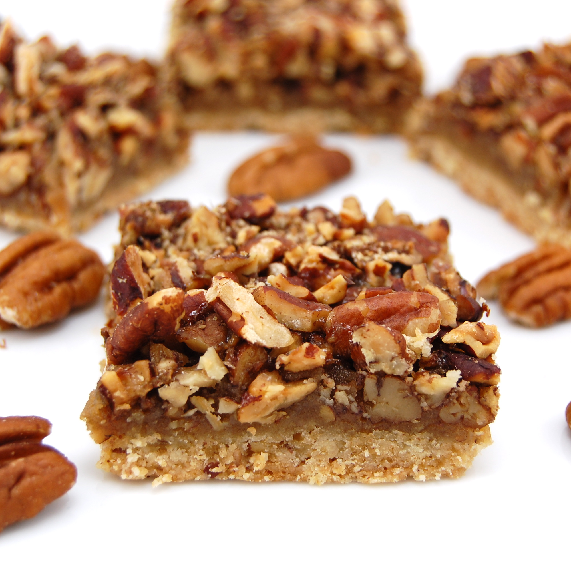 Pecan Bars | Sweet Pea's Kitchen