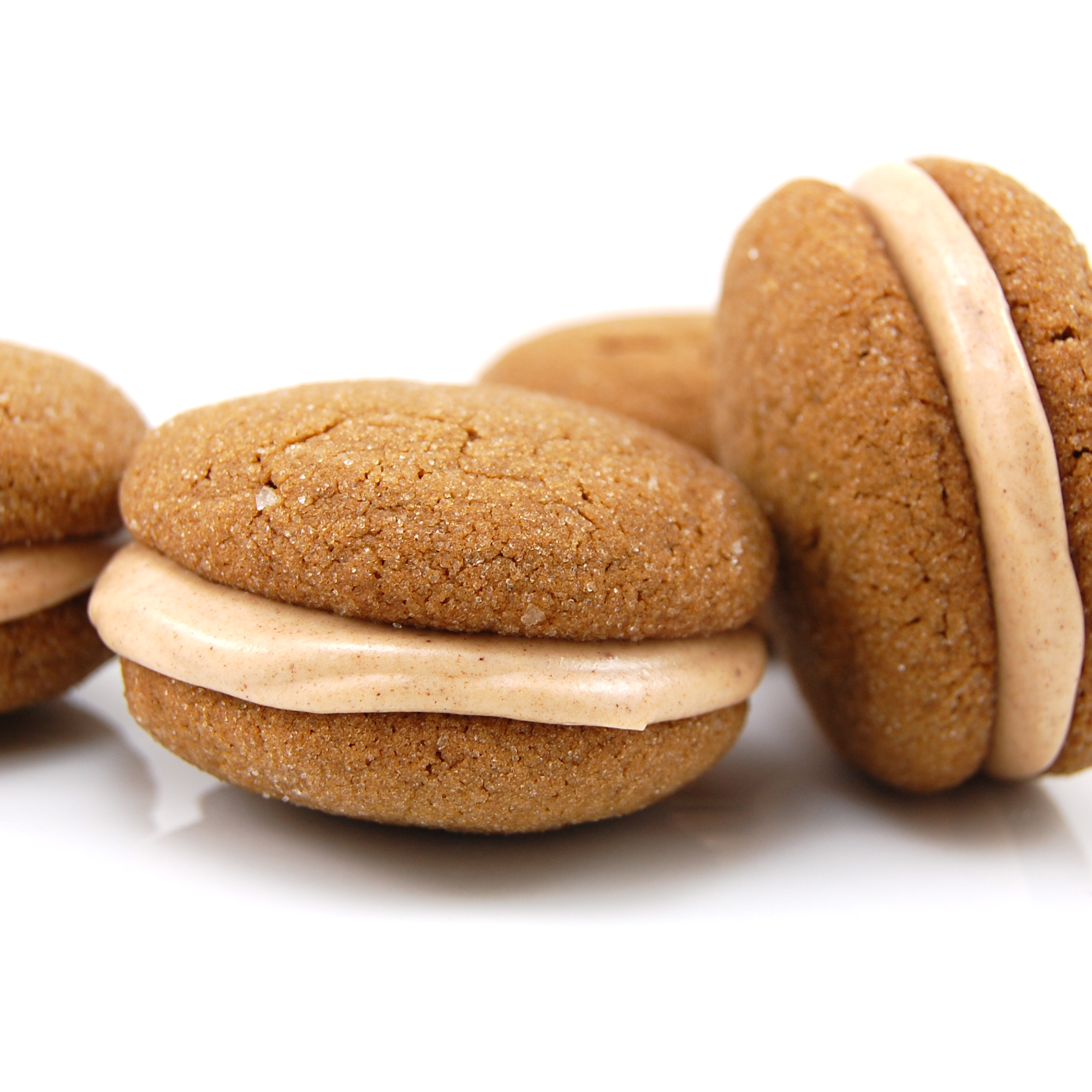 Ginger Sandwich Cookies With Cinnamon Cream Filling Sweet Pea S