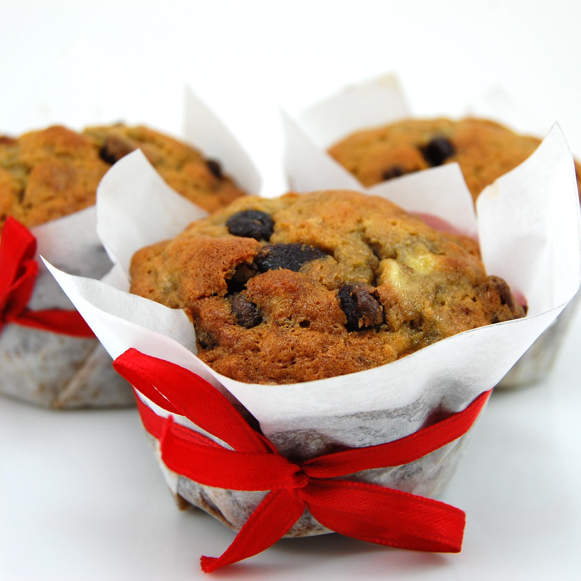 Sweet Pea's Kitchen » Banana Espresso Chocolate Chip Muffins