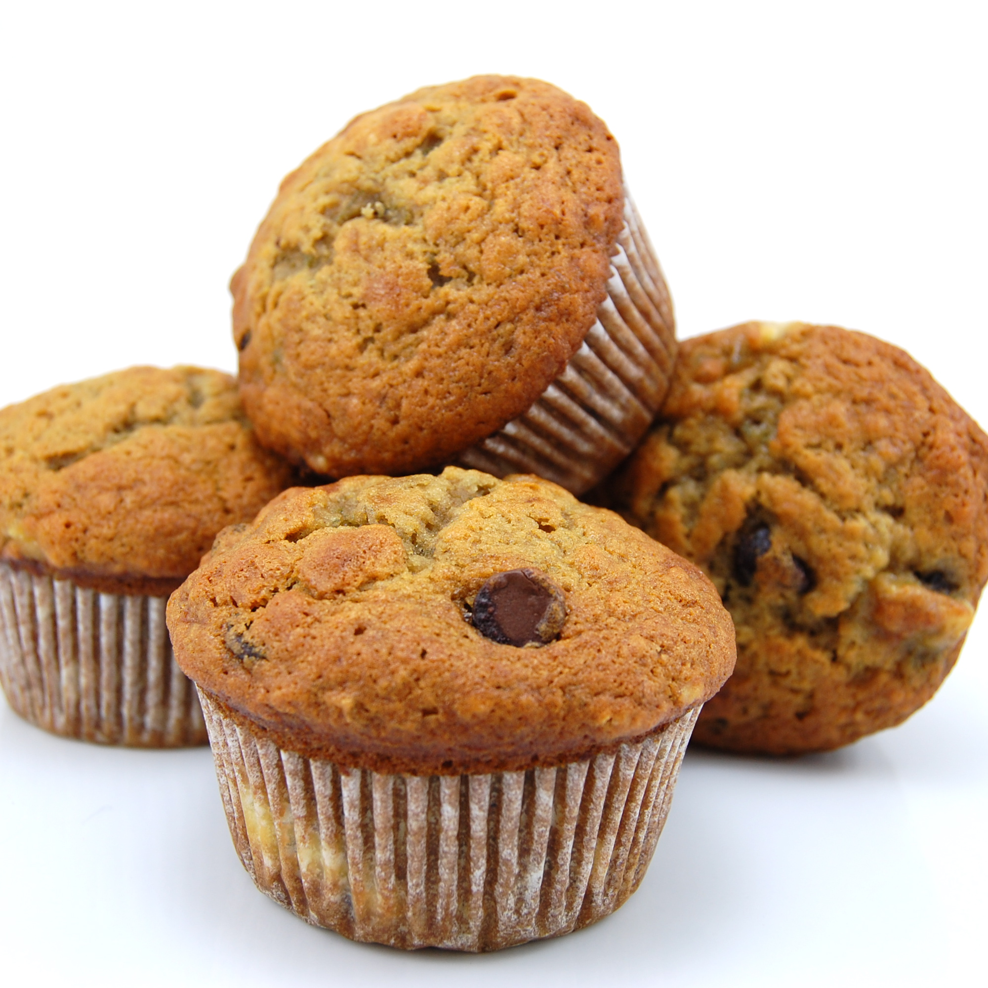 Sweet Pea's Kitchen » Banana Espresso Chocolate Chip Muffins