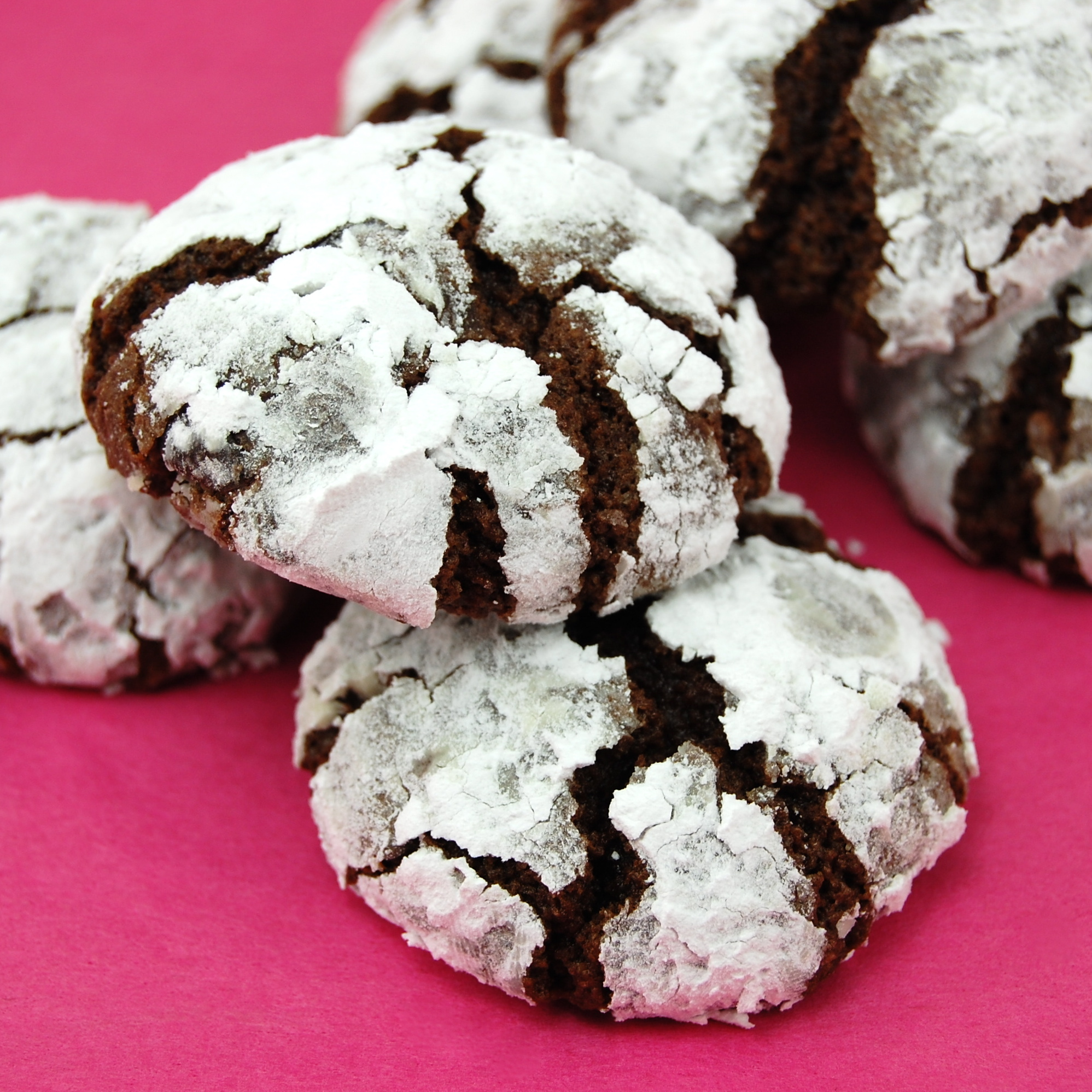Sweet Pea's Kitchen » Black Forest Crinkle Cookies