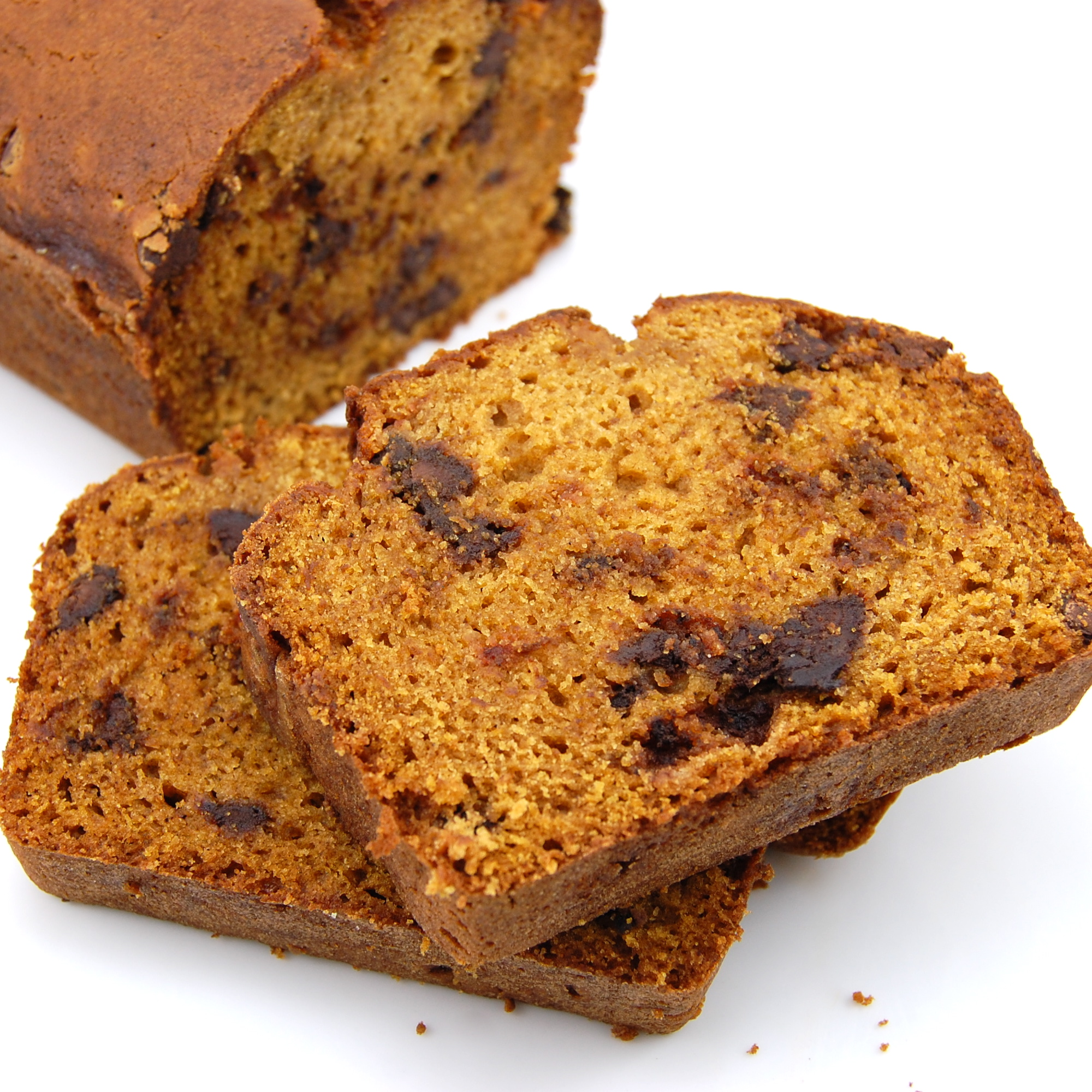 incredibly moist and spicy pumpkin bread exploding with chocolate ...