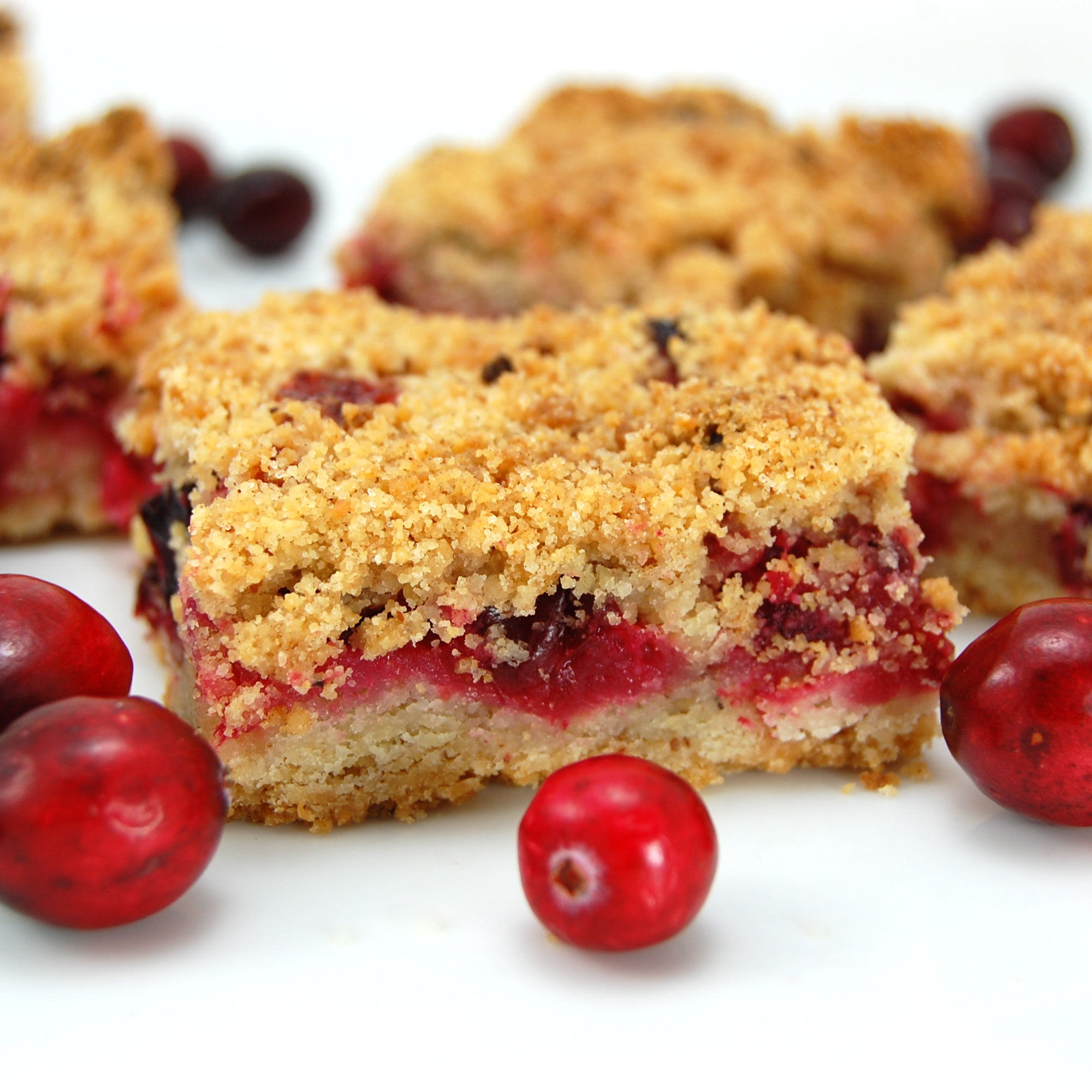 Sweet Pea's Kitchen » Cranberry Crumb Bars