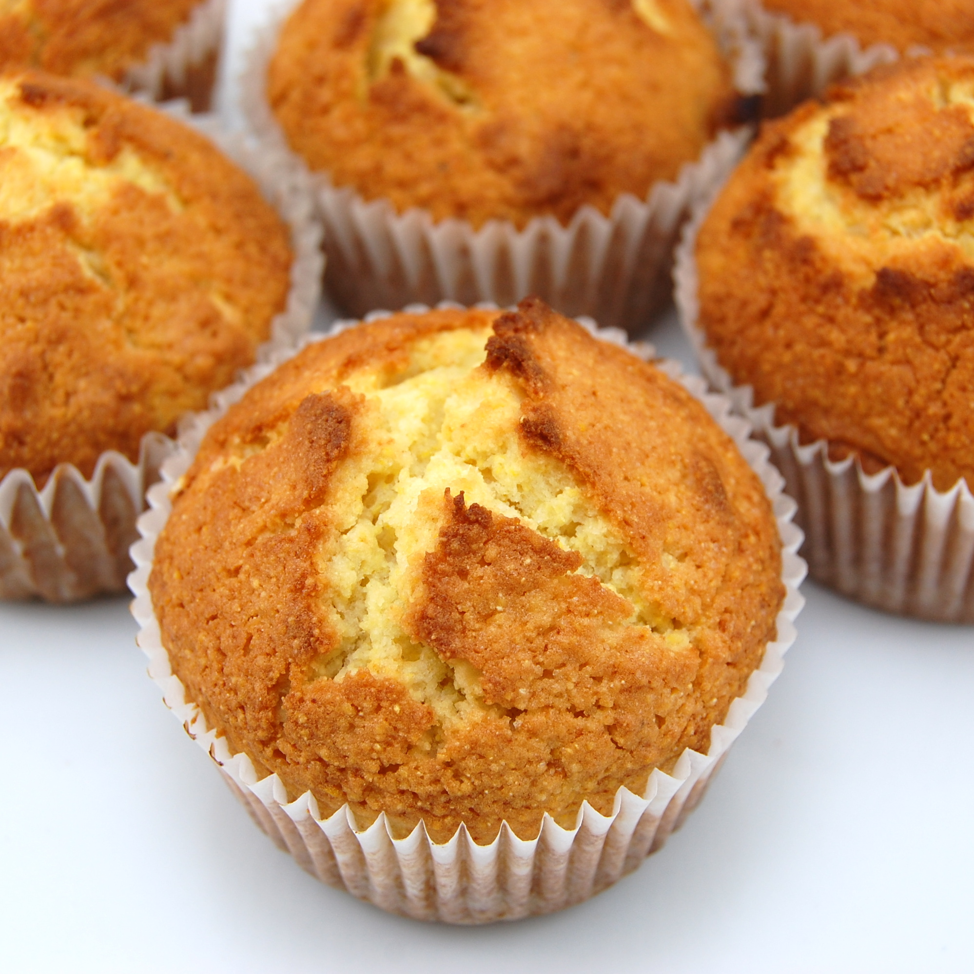 Sweet Pea's Kitchen » Honey Cornbread Muffins