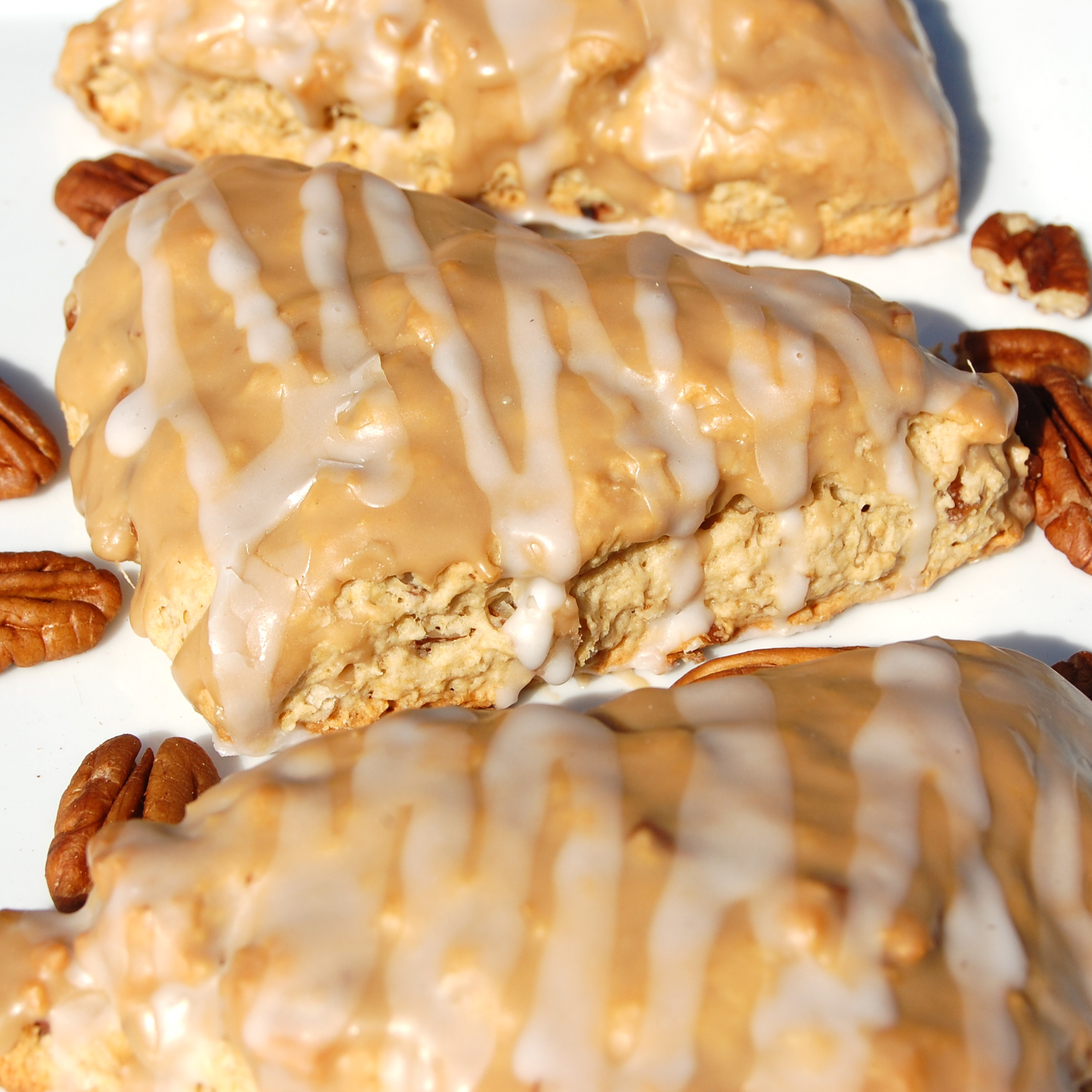 Sweet Pea's Kitchen » Maple Oat Pecan Scones