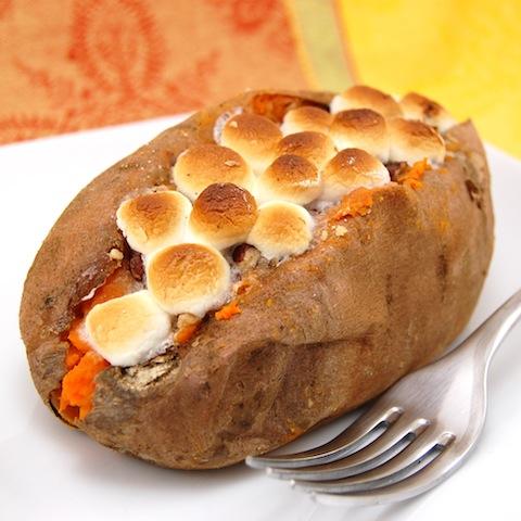 Sweet Pea's Kitchen » Stuffed Sweet Potatoes