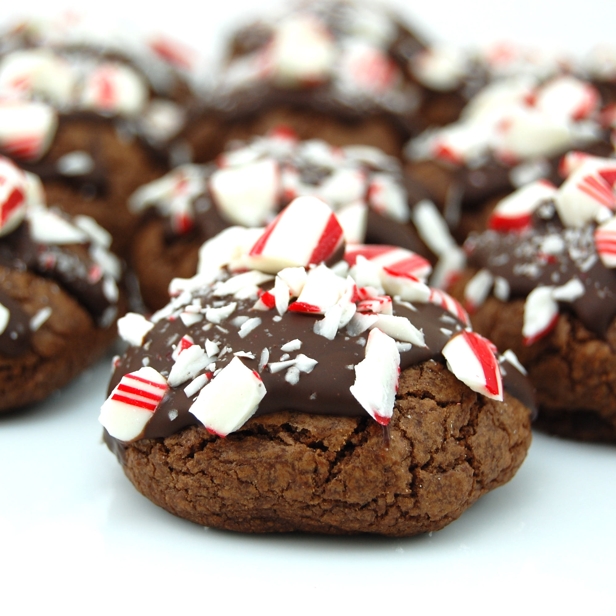 Sweet Pea's Kitchen » Double Chocolate Peppermint Crunch Cookies