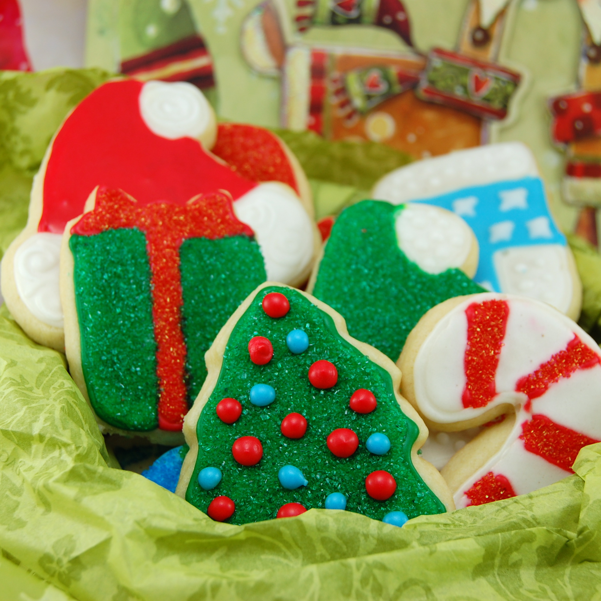 Sweet Pea's Kitchen » Christmas Sugar Cookies