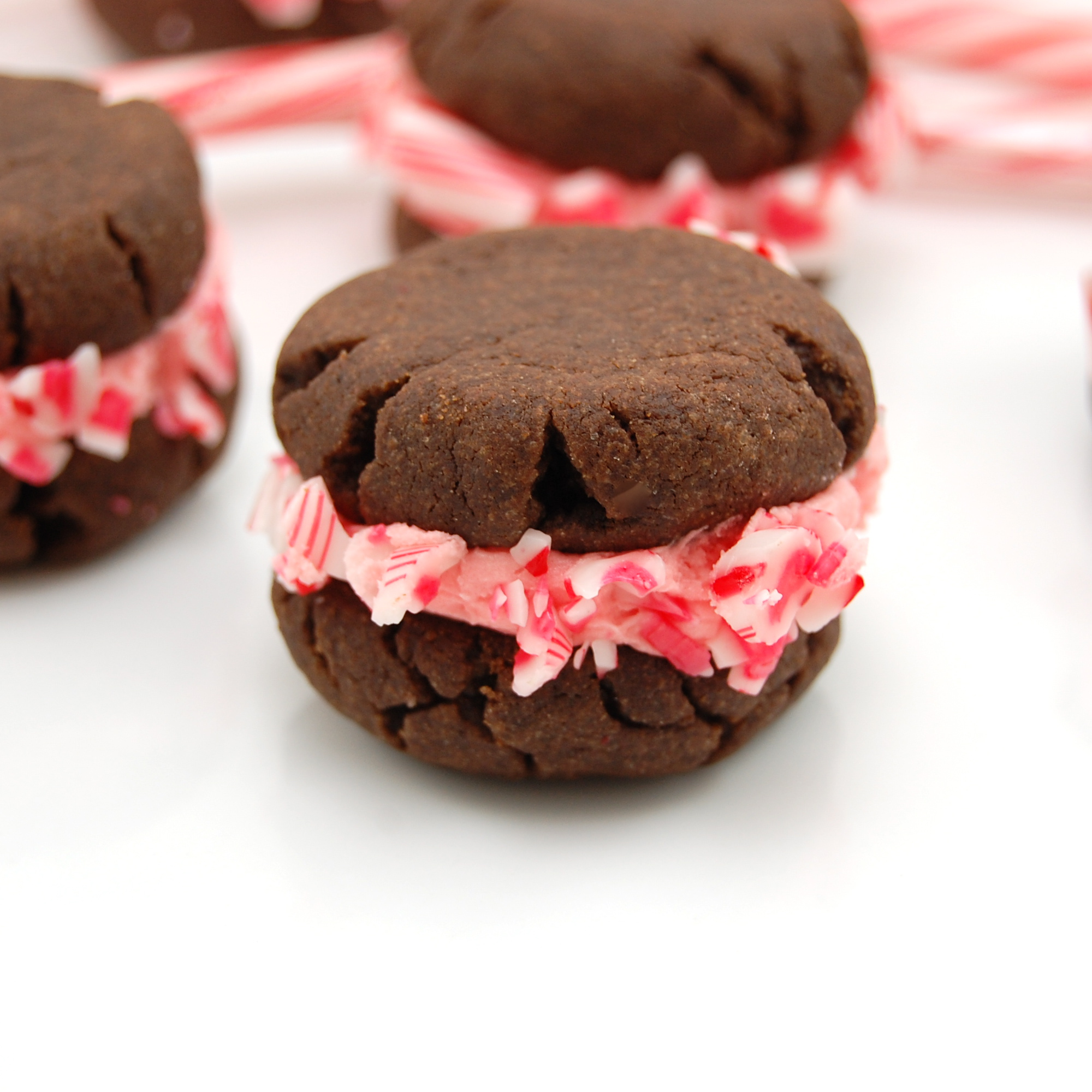Sweet Pea's Kitchen » Chocolate Candy Cane Cookies