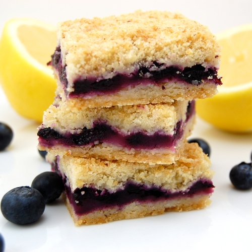 Sweet Pea's Kitchen » Blueberry Crumble Bars