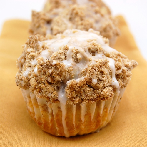 Cinnamon Sour Cream Coffee Cake Muffins