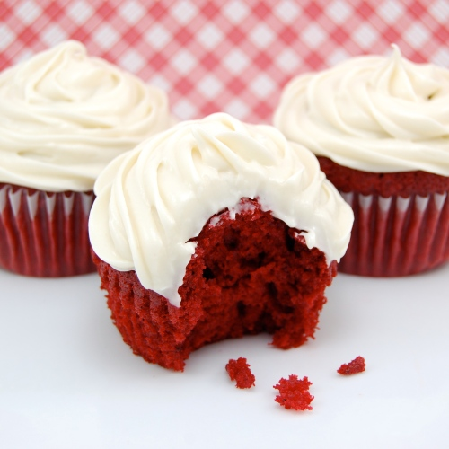 Sweet Pea's Kitchen » Red Velvet Cupcakes with Cream Cheese Frosting