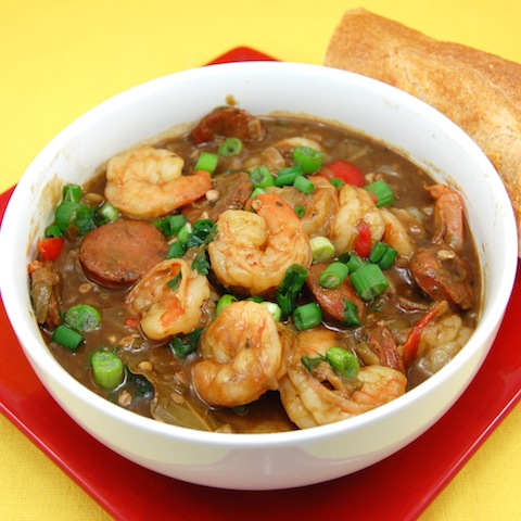 Creole-Style Shrimp and Sausage Gumbo