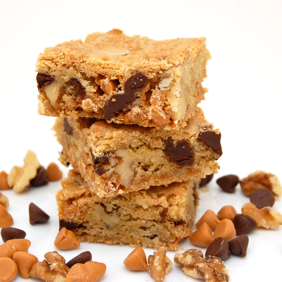 Chewy, Chunky Blondies