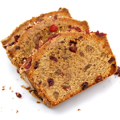 Sweet Pea's Kitchen » Espresso Pound Cake with Cranberries and Pecans