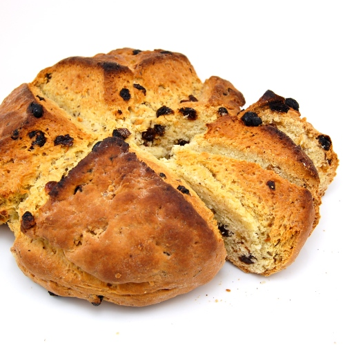 ... Kitchen » American-Style Soda Bread with Raisins and Caraway Seeds