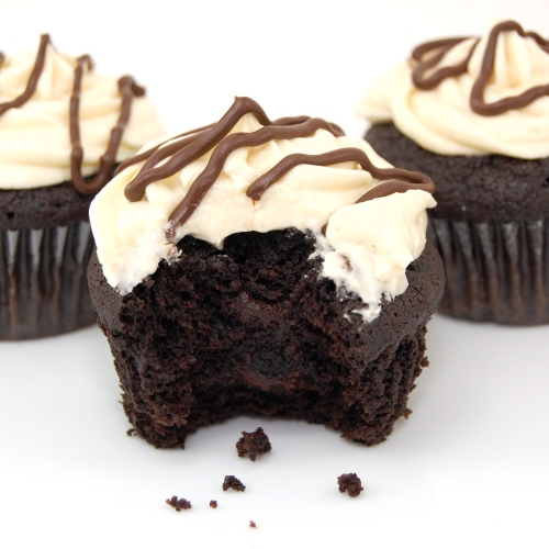 Sweet Pea's Kitchen » Guinness and Bailey's Irish Cream Cupcakes