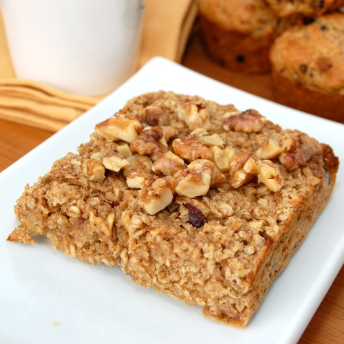 Sweet Pea's Kitchen » Baked Apple Walnut Oatmeal