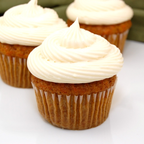 Sweet Pea's Kitchen » Carrot Cake Cupcakes with Cream Cheese Frosting