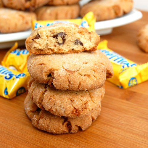 ... Pea's Kitchen » Butterfinger Chocolate Chip-Peanut Butter Cookies