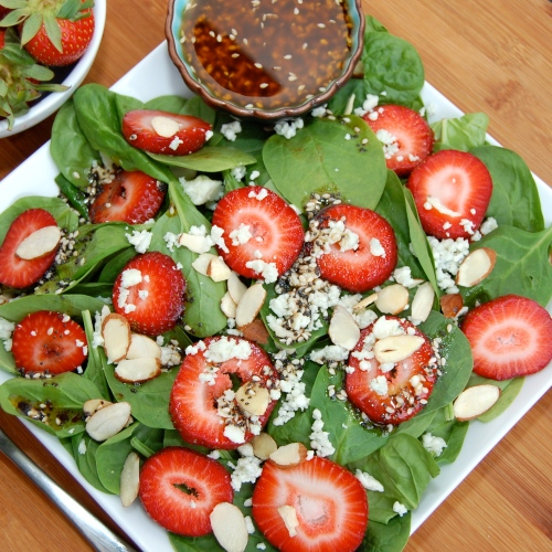 Sweet Pea's Kitchen » Strawberry Spinach Salad