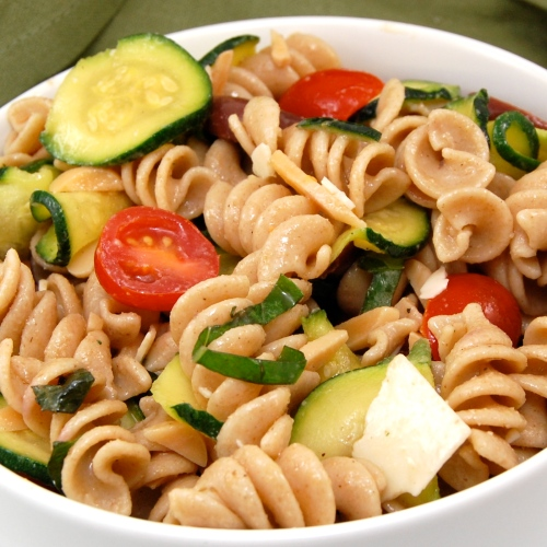 Sweet Pea's Kitchen » Zucchini and Almond Pasta Salad