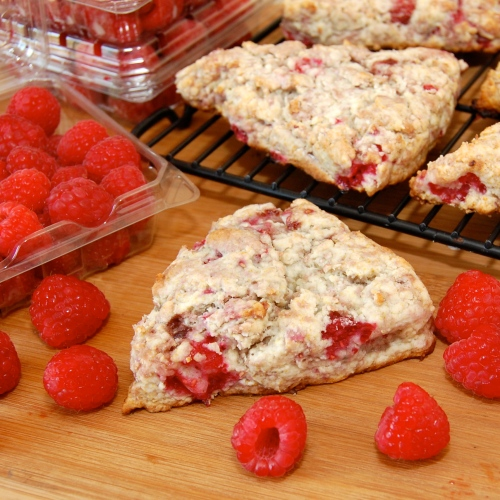 Sweet Pea's Kitchen » Raspberry Lemon Scones