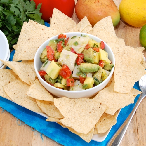 Sweet Pea's Kitchen » Ceviche with Mango and Avocado