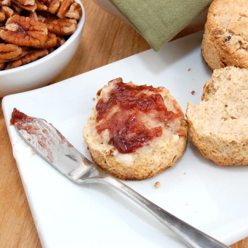 Sweet Pea's Kitchen » Pecan Sour Cream Biscuits