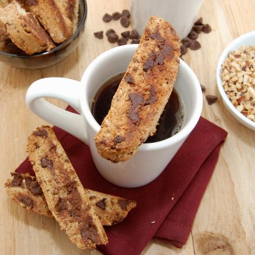 Cinnamon Hazelnut Biscotti Recipe — Dishmaps