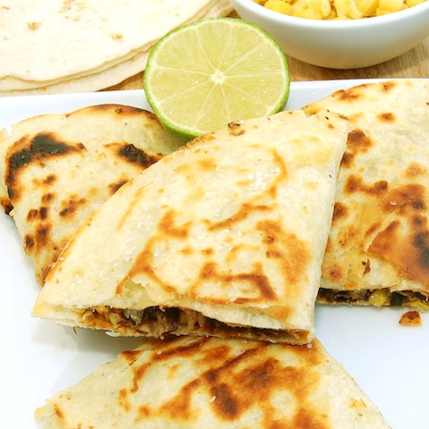 Sweet Pea's Kitchen » Corn and Black Bean Quesadillas