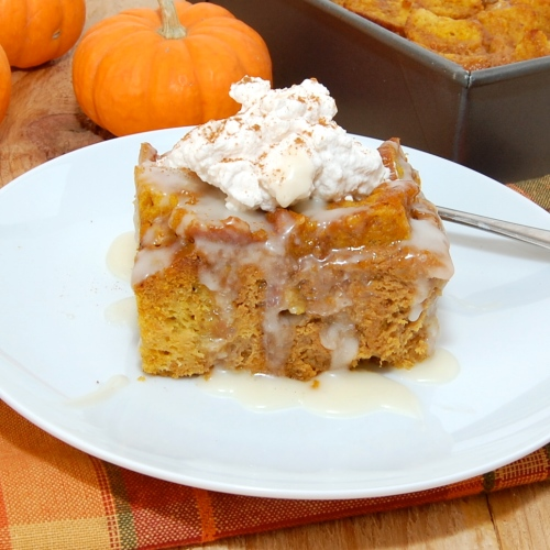 Sweet Pea's Kitchen » Rum Raisin Pumpkin Bread Pudding