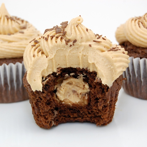 ... peanut butter frosting. The perfect cupcake for any Buckeye fan