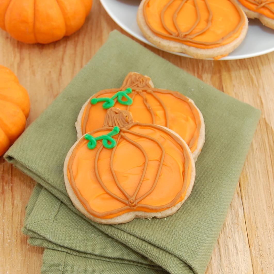 Sweet Pea's Kitchen » Pumpkin Spice Sugar Cookies