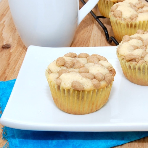 Sweet Pea's Kitchen » New York-Style Crumb Cake Muffins