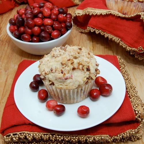 Sweet Pea's Kitchen » Cranberry Orange Pecan Muffins