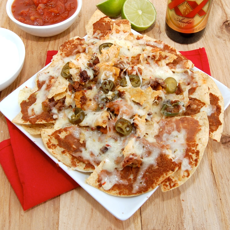 Ultimate Spicy Beef Nachos