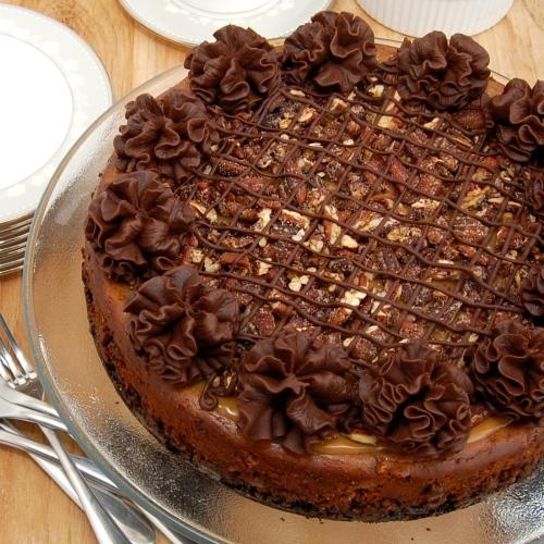 Sweet Pea's Kitchen » Chocolate Turtle Cheesecake