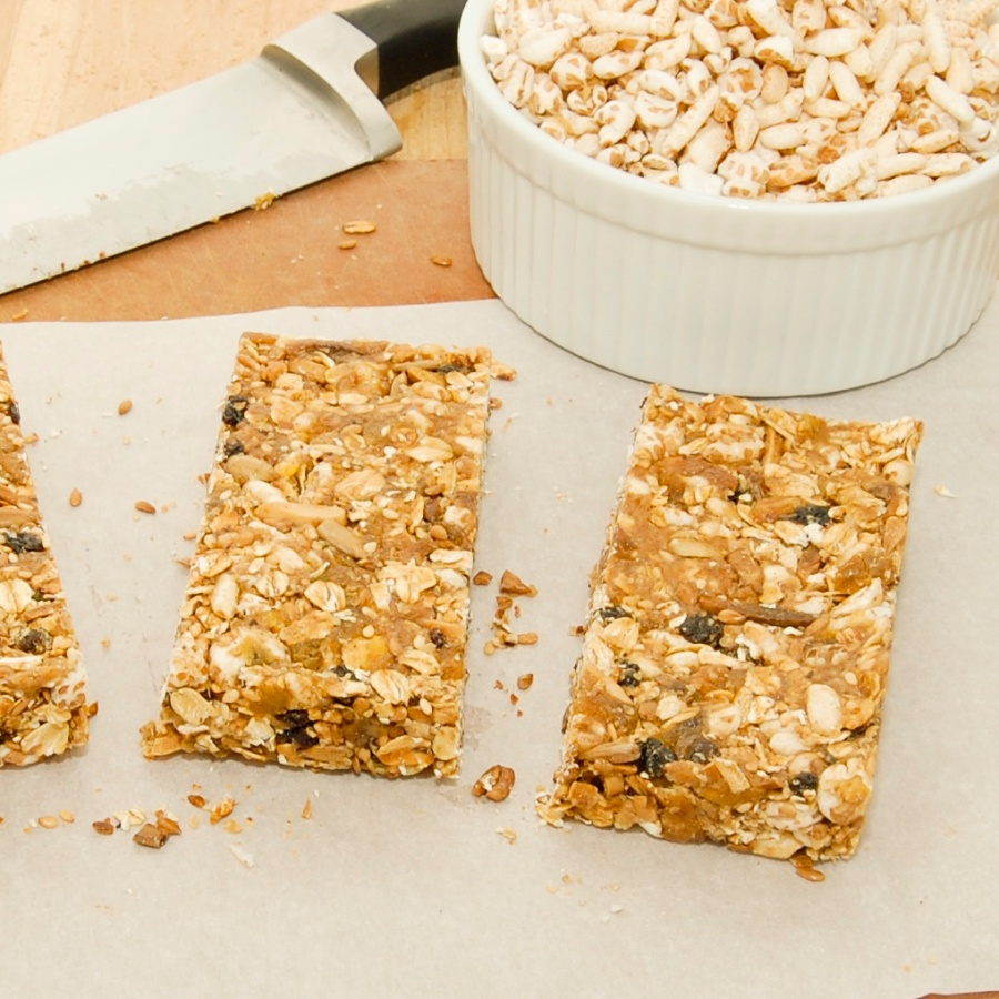 Almond-Honey Power Bar
