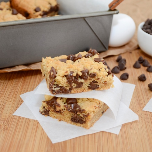 Sweet Pea's Kitchen » Thick and Chewy Chocolate Chip Cookie Bars